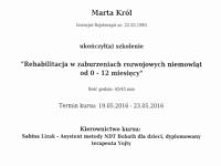 certyfikat-marta-terapia-niemowlat