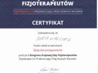 sara-dyplom-warsztaty-spiaczka